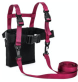 LUCKY BUMS DELUXE SKI TRAINER - PINK