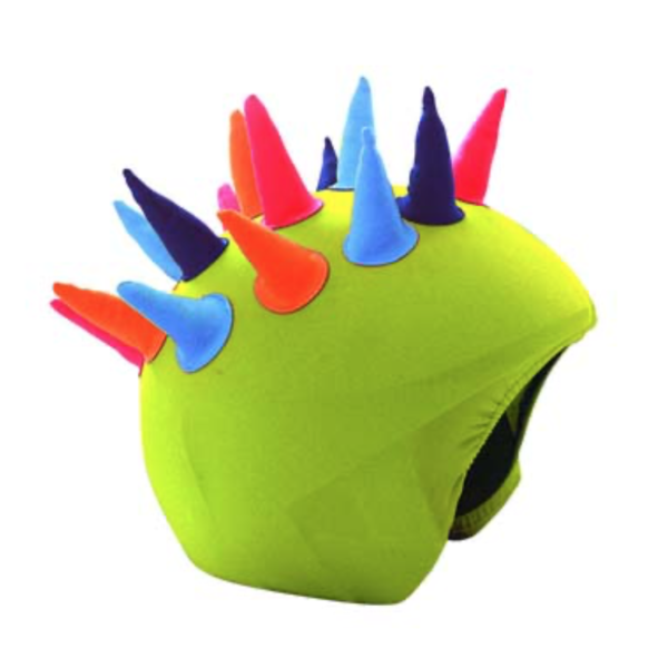 NEON HORNS HELMET COVER