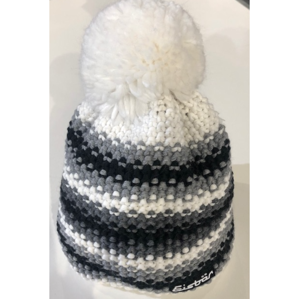 PASSION POMPOM HAT - WHITE - ADULT (8Y+)