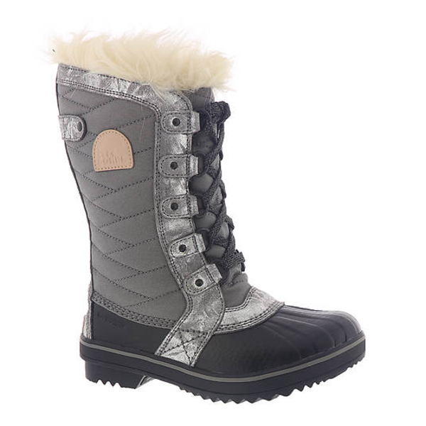 YOUTH TOFINO BOOT - SILVER - SIZE 4 ONLY
