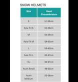 SMITH PROSPECT JR HELMET - MATTE LAVA - SIZE 48-56CM