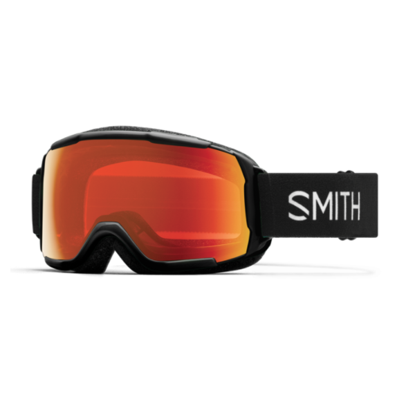 GROM GOGGLE - BLACK/EVERYDAY RED