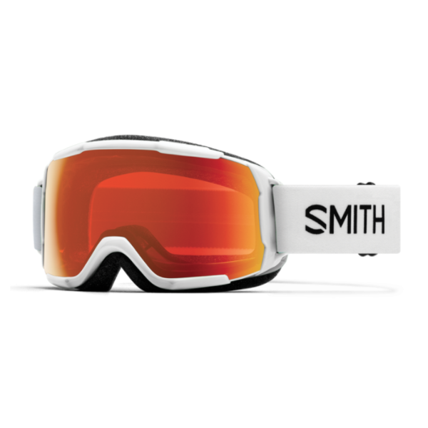 GROM GOGGLE - WHITE/EVERYDAY RED