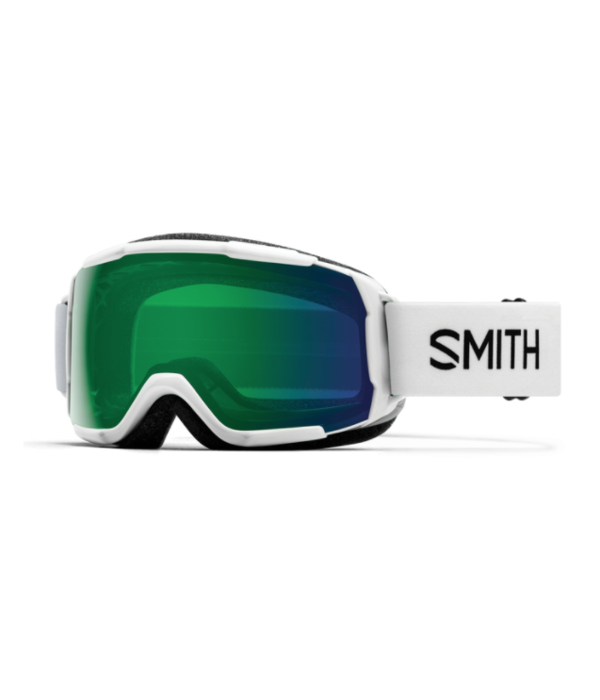 SMITH GROM GOGGLE - WHITE/EVERYDAY GREEN