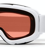 SMITH GAMBLER GOGGLES - WHITE WITH RC36 LENS - SIZE YOUTH SMALL/MEDIUM