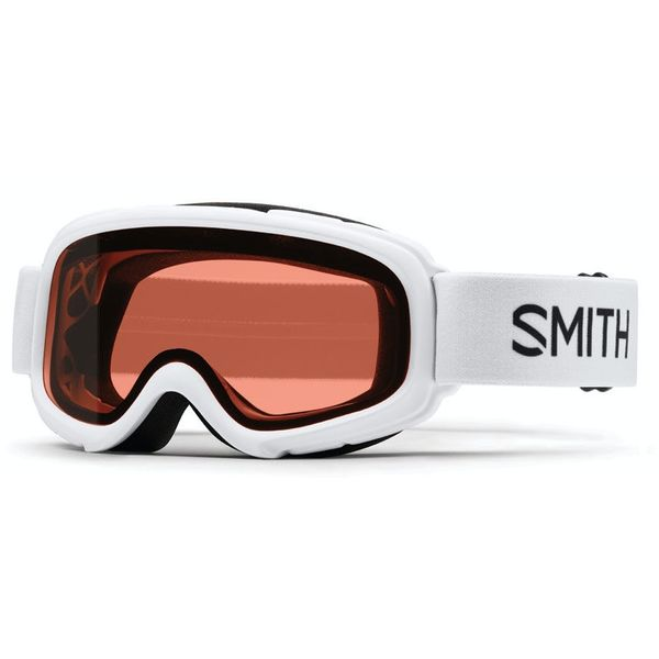 GAMBLER GOGGLES - WHITE WITH RC36 LENS - SIZE YOUTH SMALL/MEDIUM