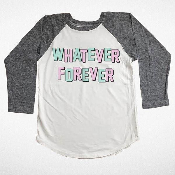 WHATEVER FOREVER LONG SLEEVE TEE