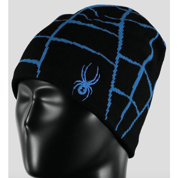 BOY'S WEB HAT BLACK/FRENCH BLUE