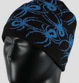 SPYDER MINI BOYS BUGS HAT BLACK/FRENCH BLUE