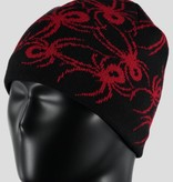 SPYDER MINI BUGS HAT BLACK/RED