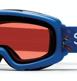 SMITH GAMBLER GOGGLES - COBALT SHUTTLES WITH RC36 LENS - SIZE YOUTH SMALL/MEDIUM