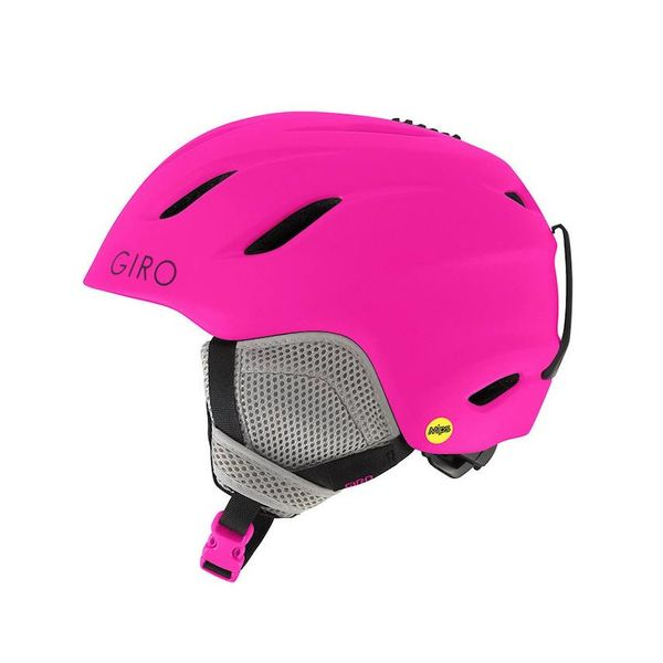NINE JR MIPS HELMET MATTE BRIGHT PINK