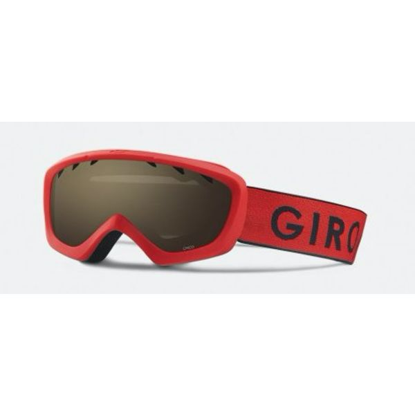 CHICO GOGGLES RED/BLACK ZOOM/AMBER ROSE LENSE - YOUTH SMALL (AGES 2-5)