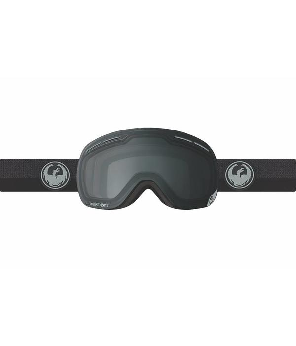 DRAGON X1S TRANSITION GOGGLES - BLACK/CLEAR - MEDIUM ADULT