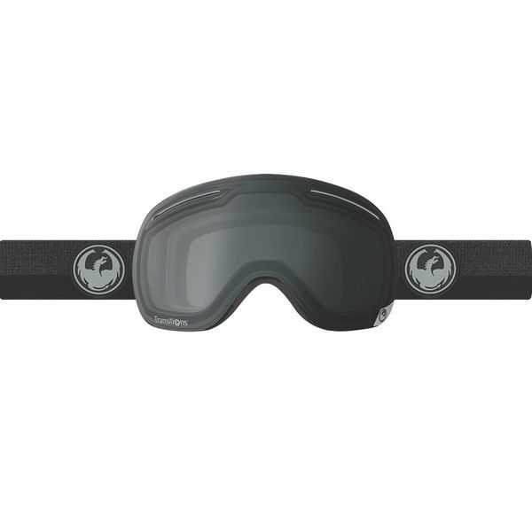 X1 TRANSITION GOGGLES BLACK/CLEAR - LARGE ADULT