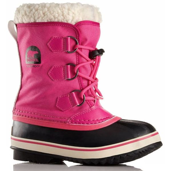 YOUTH YOOT PAC NYLON BOOT - HOT PINK