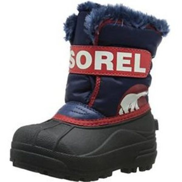 CHILDRENS SNOW COMMANDER BOOT - BLUE - SIZE 4C ONLY