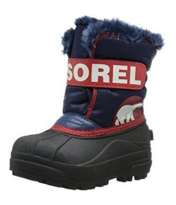 SOREL CHILDRENS SNOW COMMANDER BOOT - BLUE