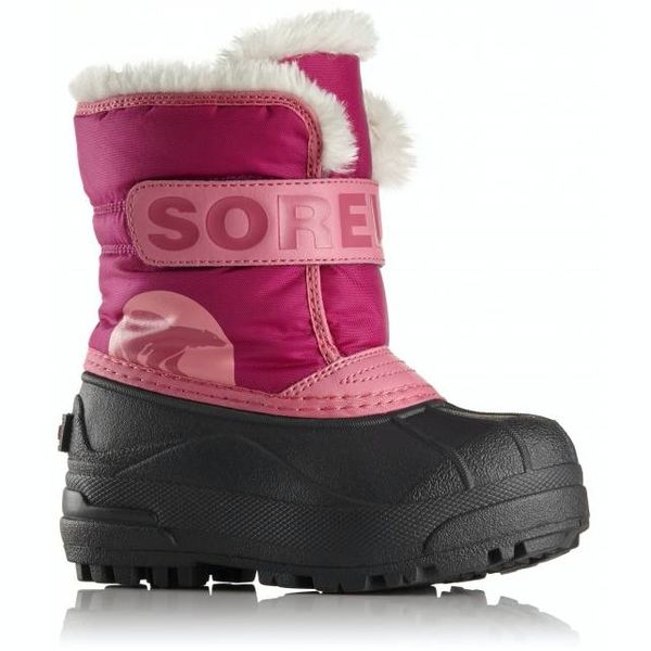 CHILDREN'S SNOW COMMANDER BOOT - PINK