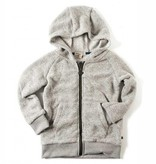 APPAMAN LUDLOW HOODIE - HEATHER MIST