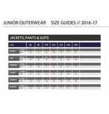 DESCENTE JUNIOR BOYS RYDER PANT - ORANGE - SIZE 14 ONLY