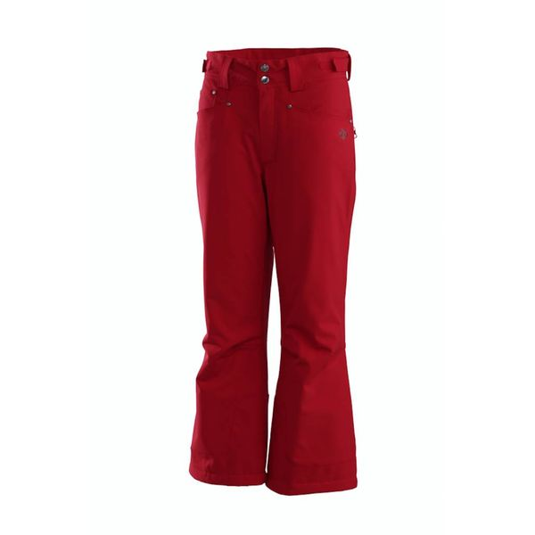JUNIOR GIRL'S SELENE PANT - RED - SIZE 8 ONLY