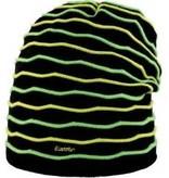 EISBAR WAVE HAT - BLACK/NEON YELLOW/GREEN - ADULT (8Y+)