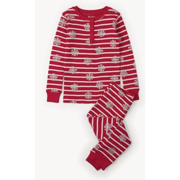 CANDY CANE PJ SET - SIZE 4 ONLY