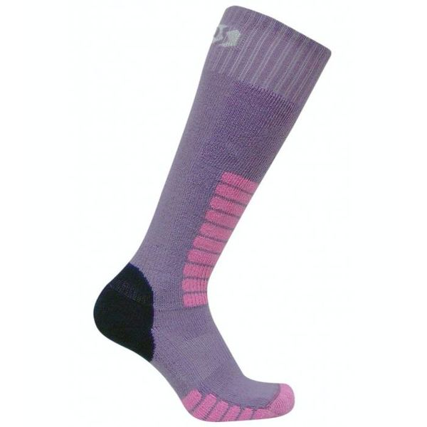 SKI SUPREME JR SOCKS - LILAC