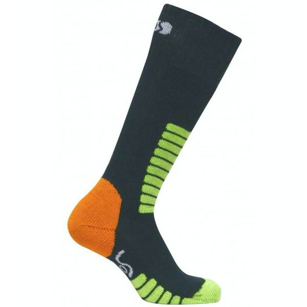SKI SUPREME JR SOCKS - ANTHRACITE