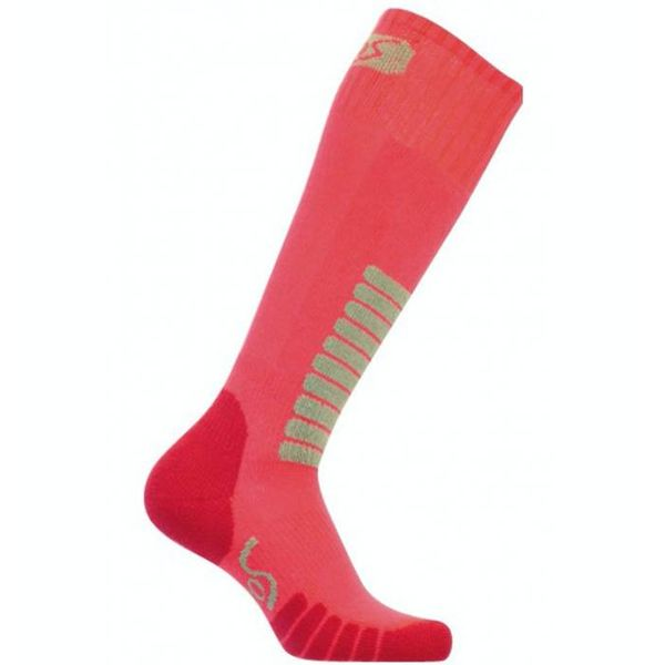 SKI SUPREME JR SOCKS - HOT PINK