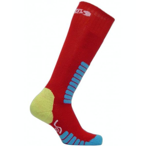 SKI SUPREME JR SOCKS - RED