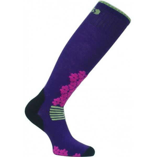 SNOW DROP SKI SOCK - PURPLE