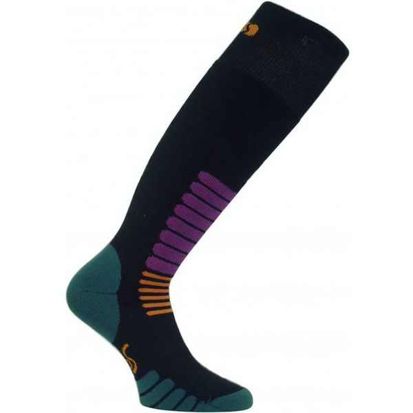 SKI ZONE SKI SOCKS - BLACK
