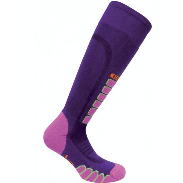 SILVER SUPREME SOCKS - PURPLE