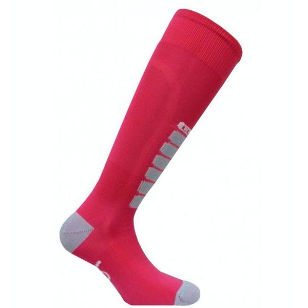 SILVER SKI LIGHT SOCKS - PINK/GREY