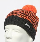 EISBAR JOSCHI POMPOM HAT - BLACK/ORANGE - ADULT (8Y+)