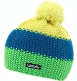 EISBAR WINTER HATS KID STAR NEON POM - YELLOW/BLUE/NEON GREEN - KIDS (2-7Y)