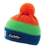 EISBAR WINTER HATS KID STAR NEON POM- ORANGE/GREEN/BLUE - KIDS (2-7Y)