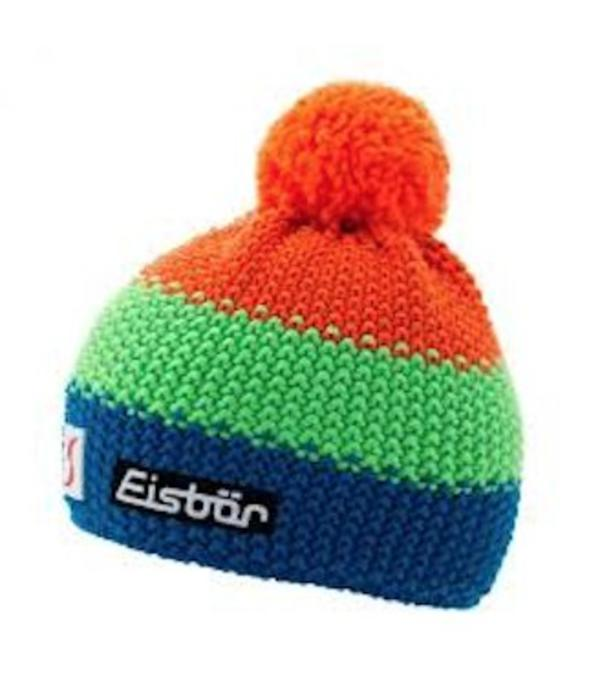 EISBAR KID STAR NEON POM- ORANGE/GREEN/BLUE - KIDS (2-7Y)