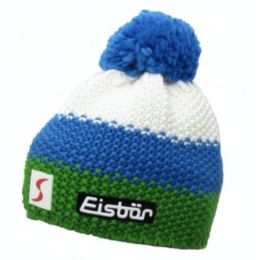 EISBAR KID STAR POMPON- WHITE/BLUE/GREEN - KIDS (2-7Y)