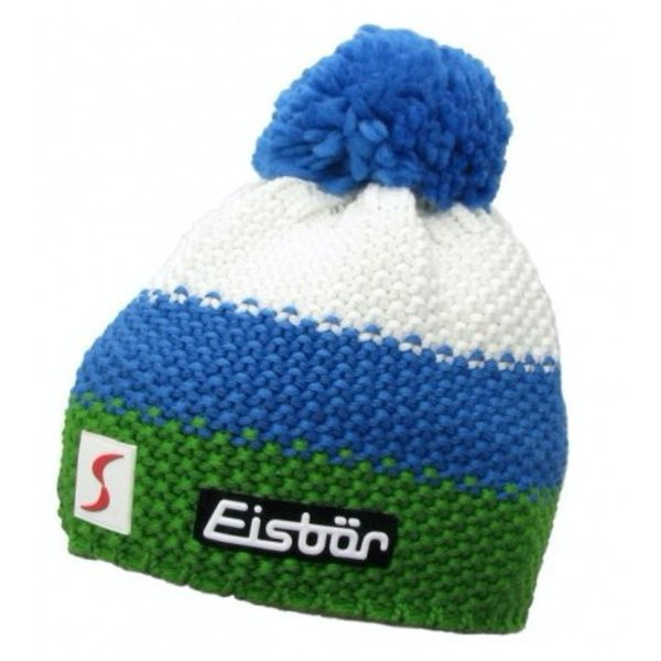 KID STAR POMPON- WHITE/BLUE/GREEN - KIDS (2-7Y)