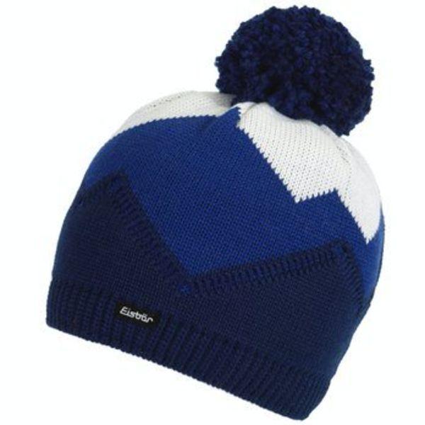 STARSKY POMPOM HAT - BLUE - ADULT (8Y+)