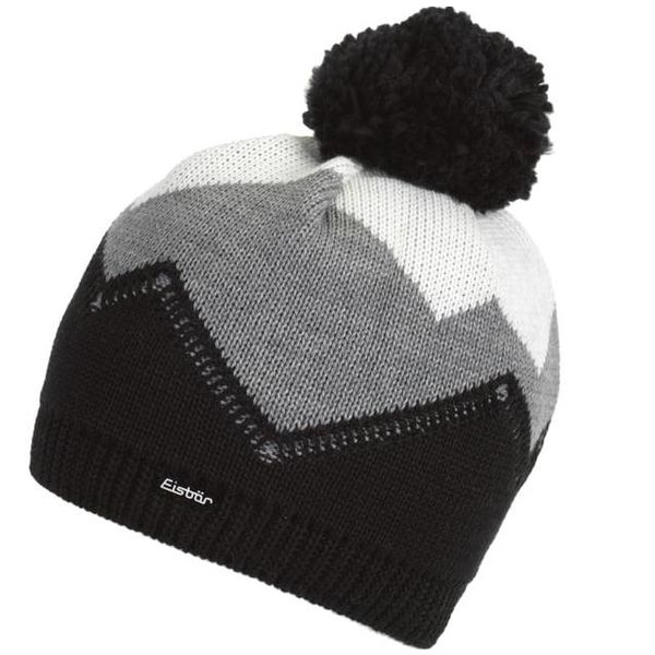 STARSKY POMPOM HAT - GREY - ADULT (8Y+)