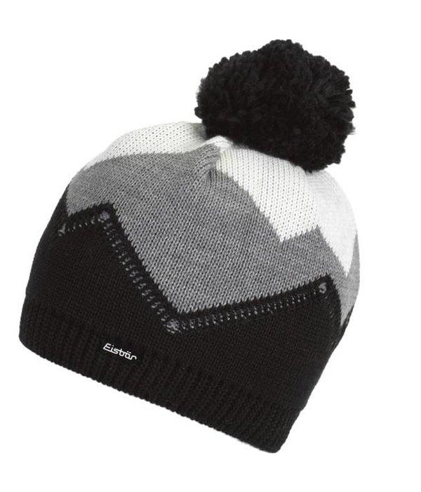 EISBAR WINTER HATS STARSKY POMPOM HAT - GREY - ADULT (8Y+)