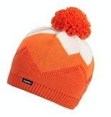 EISBAR WINTER HATS STARSKY POMPOM HAT - ORANGE - ADULT (8Y+)