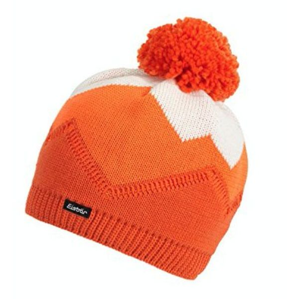 STARSKY POMPOM HAT - ORANGE - ADULT (8Y+)
