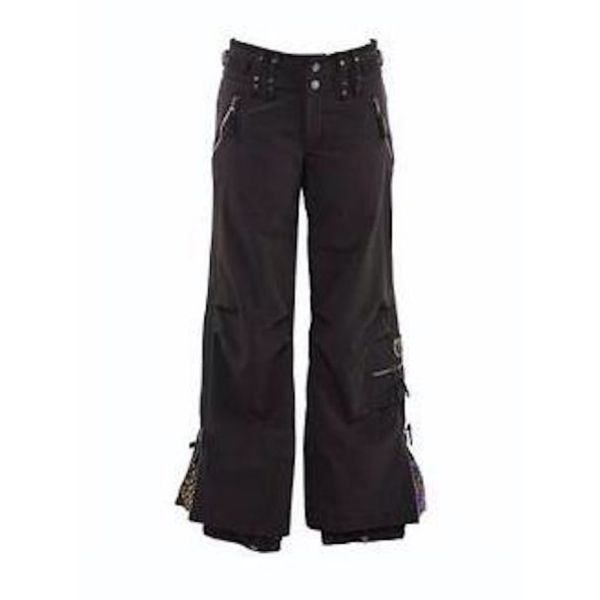 CARGO STRETCH PANT - BLACK - SIZE 8 ONLY