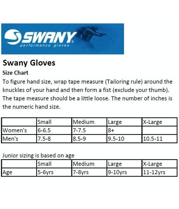 SWANY LADIES X-CHANGE GLOVE - BLACK