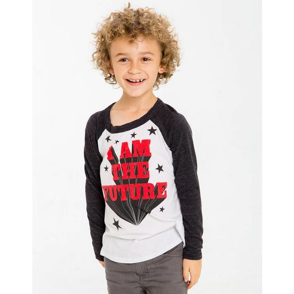 PRESCHOOL BOYS I AM THE FUTURE L/S TEE